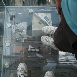 Visiting the Willis Tower in Chicago